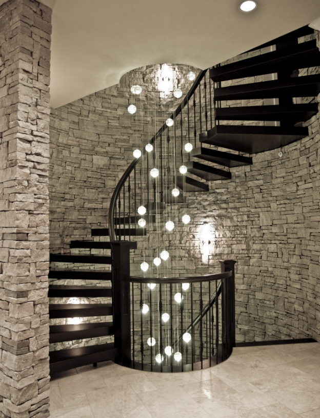 Cantilevered StairsInnovative engineered cantilevered stairs offer great visual impact in any home.