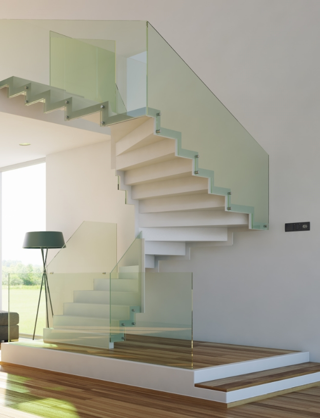 Custom StairsRize Stairs will be happy to customize any stair project for a truly magnificent space.